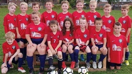 Players from Haddenham Rovers U10 Colts followed in the club''s girls team's footsteps by taking par