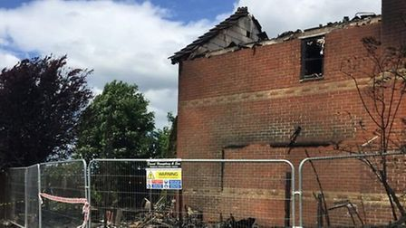 A fund raising appeal has been launched to help a family whose uninsured home was destroyed by fire