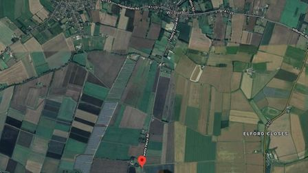 One hundred litres of diesel was stolen from a farm in Wilburton where around £25,000 worth of damag