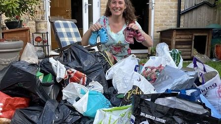 Ely Hero Award winner Fleur Patten is appealing for people to donate outgrown or unwanted shoes for