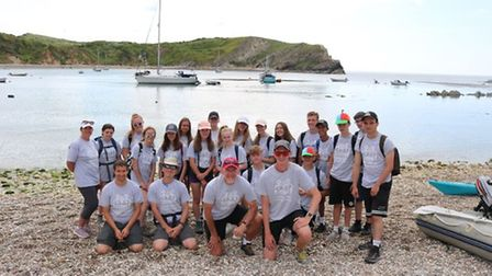 Pictured is students from Witchford Lulworth. A total of 270 people took part in last year's gruelli