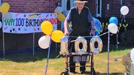 Doddington resident Wilfred Leonard Thompson turned 100-years-old today (May 29) during the coronavi