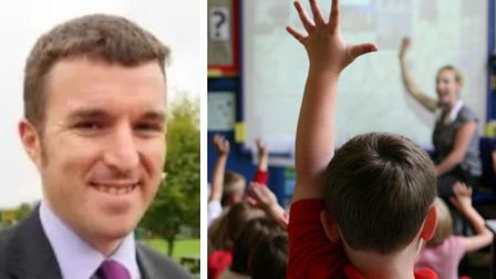 Schools boss Jonathan Lewis has revealed how he was bombarded with a significant volume of emails fr