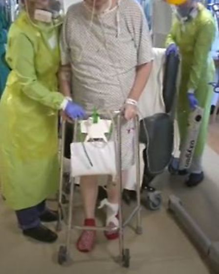 """""""We cannot put into words just how grateful we are,"""" was how the family of a patient at Royal Papwor"""