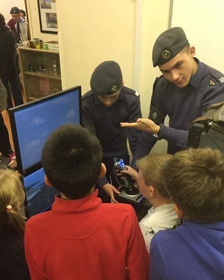 Rory Donoghue from the 1094 Ely Squadron Royal Air Force Air Cadets has been promoted to cadet warra