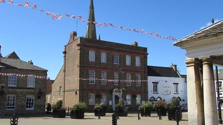 Speicla signs will go up as Fenland town centres such as Whittlesey prepare to re-open, Picture; FDC