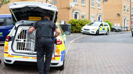 At about 8pm yesterday (4 June) officers from the armed policing unit arrested a 36-year-old man fro