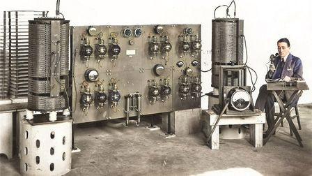 Marconi engineer W T Ditcham. Picture: Chelmsford Museum Services