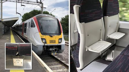 Exploring Greater Anglias new electric commuter trains currently being tested across the network. Pi