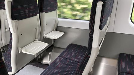 Exploring Greater Anglia's new electric commuter trains currently being tested across the network. P