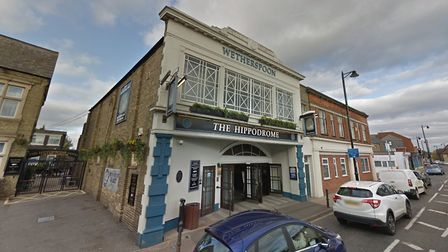 The Hippodrome Wetherpoons pub in March. Picture: Google Maps