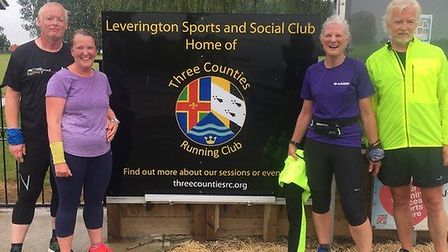 Three Counties Running Club teamed up in their latest lockdown challenge, where each pair follows th