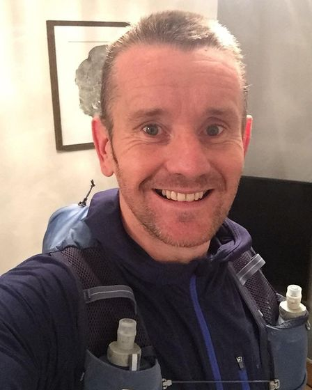 Three Counties member Matthew Knott has completed his first marathon. Picture: SARAH-JANE MACDONALD