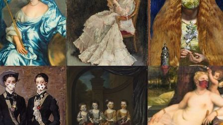 The Fitzwilliam Museum in Cambridge has released a collection of 'art for our time' greeting cards a