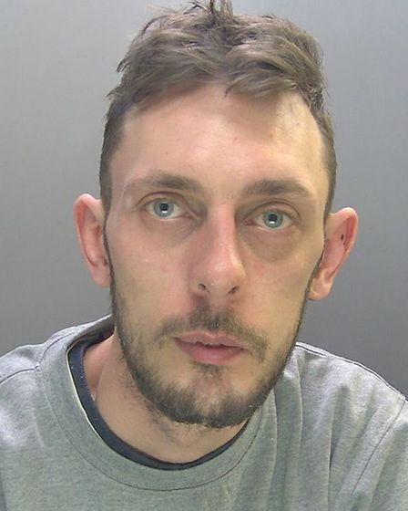Domestic abuser Jamie Willis, of Tweedale, Cambridge, attacked his girlfriend on three different occ