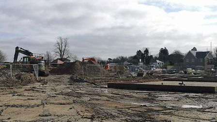 Work to build Cambridgeshire and Peterborough's first £100,000 homes got underway at the Rayners Gre