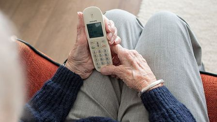 Telephone scammers tried to force a March man to withdraw £3,500 from his bank account in exchange f