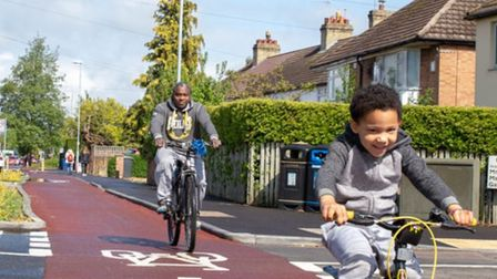 Making life easier for cyclists is part of a new initiative by Cambridgeshire County Council. New me