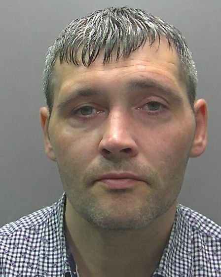 John Kennedy (pictured) broke into a 98-year-old's house in Peterborough overnight and has been sent