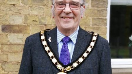Cllr Alex Miscandlon paid tribute to the work being done to tackle the coronavirus after being elect