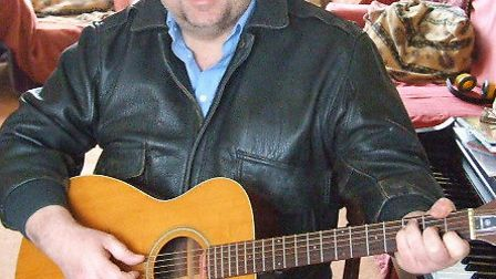 Stuart Fretwell who lives on Portand has been writing song-lyrics for Weymouth's Ed Hintze for about