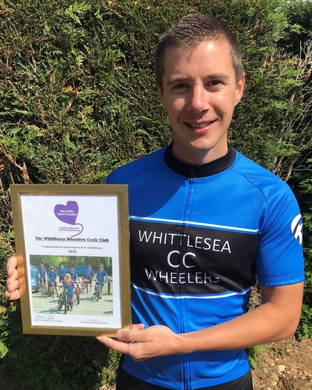 Arron Coulson of Whittlesea Wheelers Cycle Club. Picture: ROBERT WINDLE