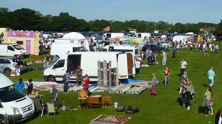 Villagers in Fordham are divided after the reopening date of a large car boot sale was announced. Pi