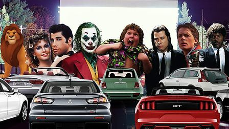 Adventure Drive-In's cinema is coming to the region this August as part of a nationwide tour. Pictur