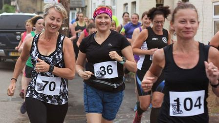 The Manea virtual 5k has raised money for different charities over the last six years. Here are some