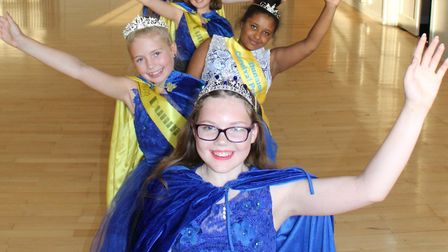 Last year's Carnival Queen, Hannah Perry with her court. Picture: DUNMOW CARNIVAL