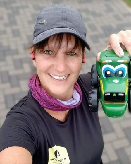 Runners from pre-schoolers to experienced athletes took part in this year'?s Manea Virtual 5k. Pictu