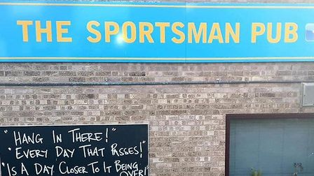 The Sportsman pub in Chatteris say they do not want to rush reopening their doors as other pubs, res
