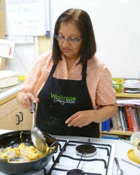 Ely teacher and food blogger Mina Joshi, who runs 'Give Me Some Spice', has been keeping busy during