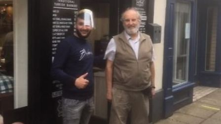 Ely Hereward Rotary Club member Mike Anthony, who lives in March, hopes to raise £500 for the Cambri