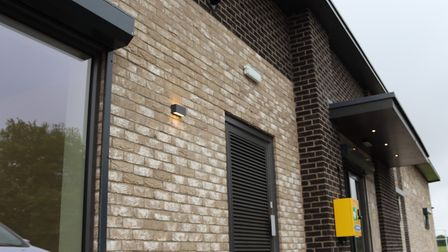 The front of the new pavilion on Estover Road. Picture: DAN MASON
