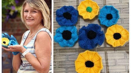 Kim Kynaston launched The Blue Poppy Appeal in a bid to remember those affected or battling through