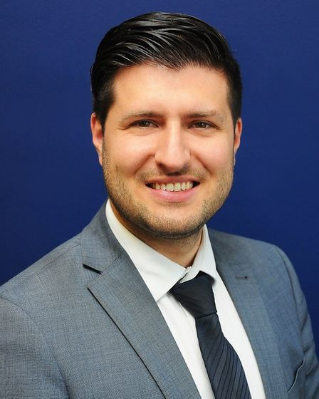 Ray Bullet, Partner at Pestell and Co estate agents in Great Dunmow. Picture: Pestell and Co