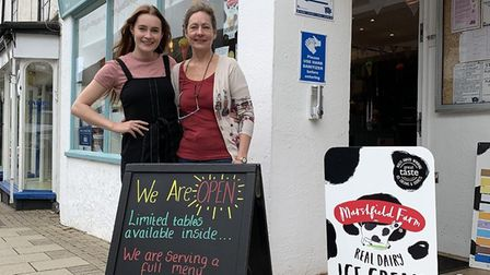 The Chameleon Cafe in Great Dunmow has reopened after coronavirus restrictions eased and is now sell
