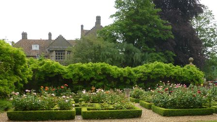 The Bishops Garden, adjoining Ely Cathedral, will open under the National Garden Scheme on Sunday, J