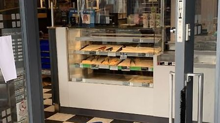 Greggs in March re-opened on Saturday July 4 as lockdown was lifted. Inside, perspex screens had bee