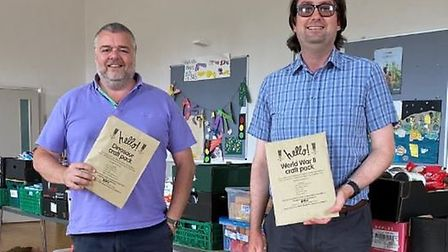 Ely Museum has teamed up with Ely Foodbank to provide 1,600 educational activity packs thanks to fun