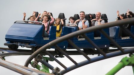 Wicksteed Park in Kettering, Northamptonshire faced a bleak future after administrators were called