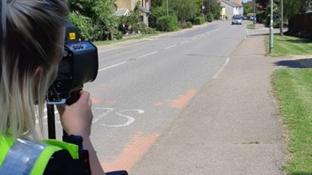 PC Willis provoked massive feedback by posting aboutf speed enforcement in East Cambs, She wondered