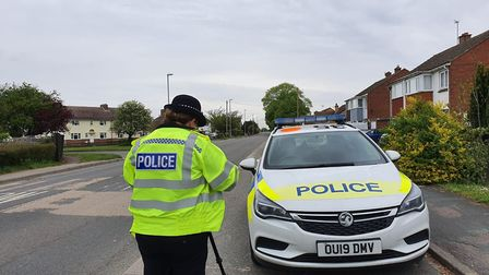 In May, East Cambs Police carried out speed checks across Sutton, Burwell and Bottisham. 'Remember