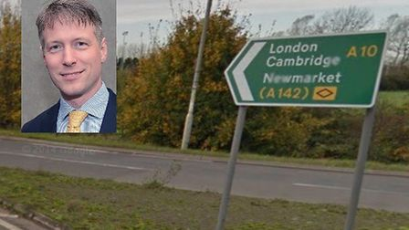 Aidan Van de Wyer shares his views on proposals to improve the A10 between Ely and Cambridge. Pictur