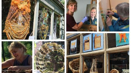 Artists from the Fens have teamed up to try and lift creative and community spirit as part of the na