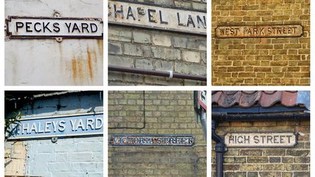 Some of the street signs in Chatteris in need of urgent repair. Pictures: BRIAN HEMMENT