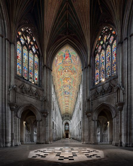 The splendour of Ely Cathedral. Ambitious proposals under discussion consider how the city of Ely wi