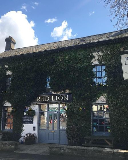 The Red Lion at Stretham. Image: Supplied.