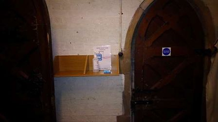 Vestry station on exit. Picture: Submitted
